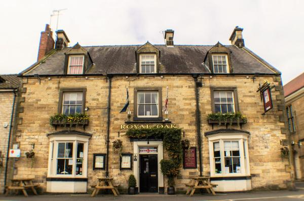 The Royal Oak Hotel in Helmsley, North Yorkshire, England