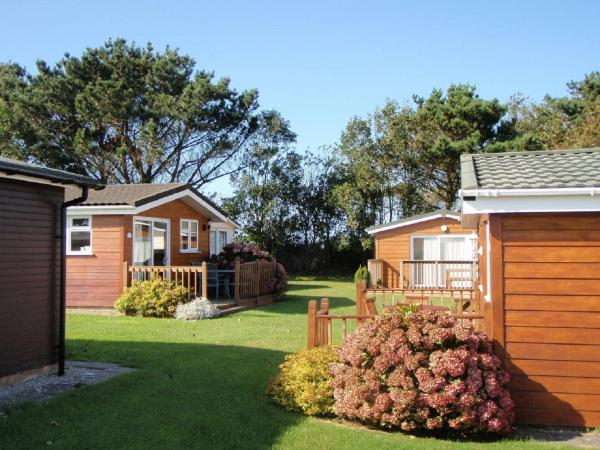 Chalets & Lodges at Atlantic Bays Holiday Park in Padstow, Cornwall, England