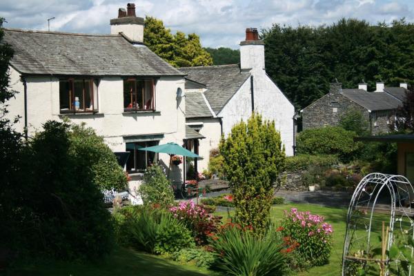 School House Cottage B&B and tea garden in Ambleside, Cumbria, England