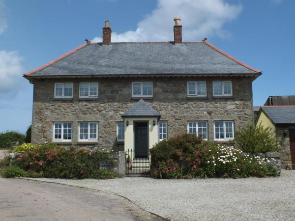 Breja Farmhouse b & b in Towednack, Cornwall, England