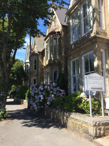 Garswood Guest House in Penzance, Cornwall, England