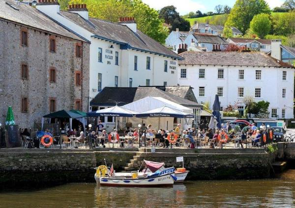 The Steam Packet Inn in Totnes, Devon, England