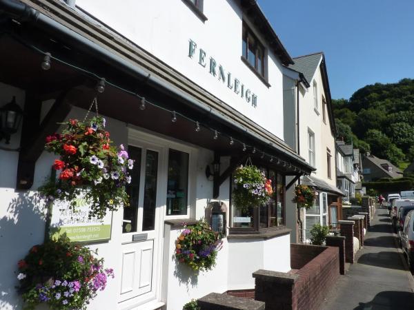 Fernleigh Guest House in Lynton, Devon, England