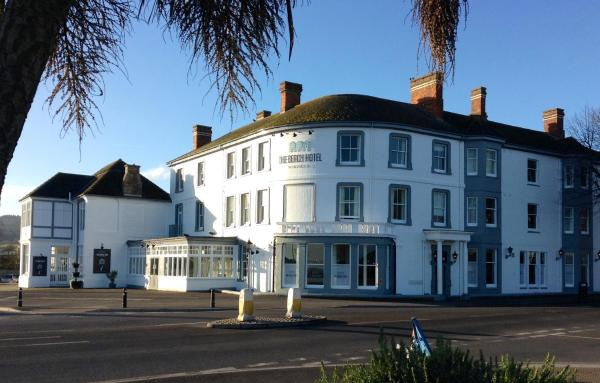 The Beach Hotel in Minehead, Somerset, England