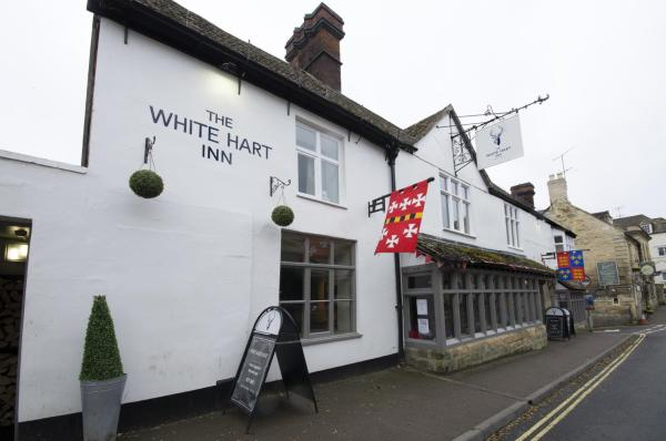 The White Hart Inn in Winchcomb, Gloucestershire, England