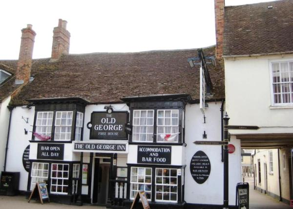 Old George Hotel in Milton Keynes, Buckinghamshire, England
