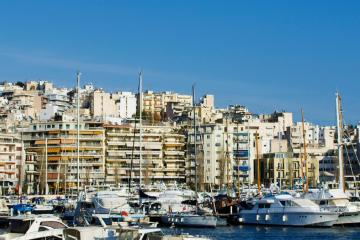 Piraeus: Car rentals in 5 pickup locations