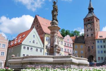 Landsberg am Lech: Alquiler de coches en 1 lugar de recogida