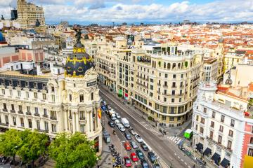 Madrid: Car hire in 40 pick-up locations
