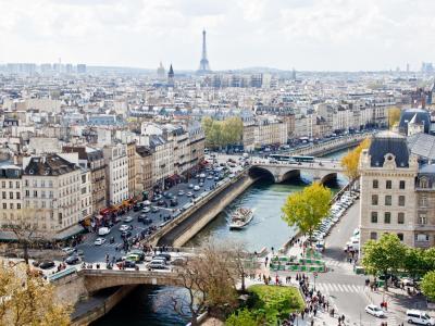 Hotell i Paris, Frankrike