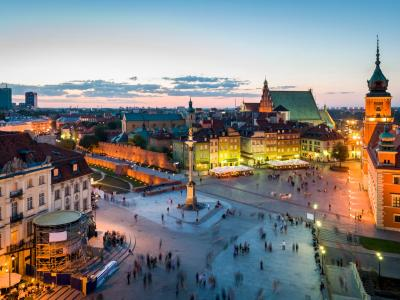 Готелі у напрямку Варшава, Польща