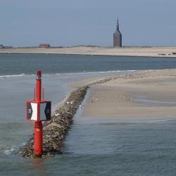 Wangerooge 21 Hotels am Strand/Meer