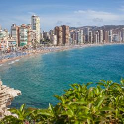 Benidorm 1406 beach hotels