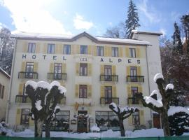 Hotel des Alpes, hôtel à Brides-les-Bains