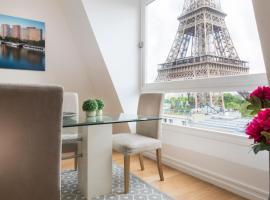 Résidence Charles Floquet, khách sạn gần Tháp Eiffel, Paris