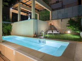 Luxury Pool House in Chania, hotel with pools in Chania Town