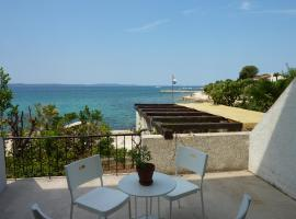 Beautiful seaview apartment with terrace near the beach - Apartments Petrcane VI
