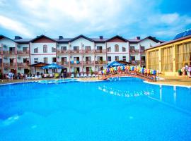 Hotel Zolotoy Bereg, hotel near Gorgippiya Anapa Archeological Museum, Anapa