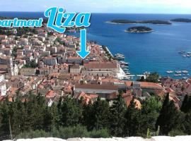 Liza's downtown apartment, apartment in Hvar