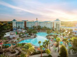 Universal's Loews Sapphire Falls Resort, accessible hotel in Orlando