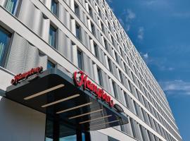 柏林市中心亞歷山大廣場希爾頓漢普頓酒店