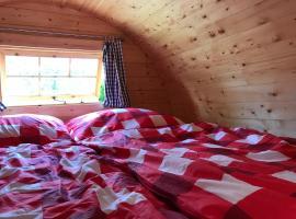 Schlaffass - Schlafen im Holzfass