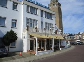 Hotel Hoogland Zandvoort aan Zee، فندق في زاندفورت