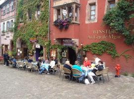 Au Cep de Vigne, hotel in Riquewihr