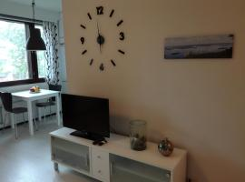A lovely one-room apartment near the city centre., hotel in Vaasa