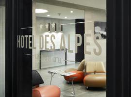 Hotel des Alpes, hotel en Ginebra