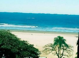 Apto Gonzaga Frente ao Mar Wi-Fi