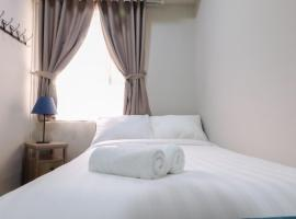 Spacious 1BR Pool View Menteng Square Apartment By Travelio