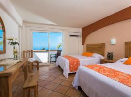 Hotel El Pescador, hotel de playa en Puerto Vallarta