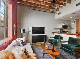 Two-Bedroom, Two-and-a-Half Bath Industrial Apt in NOLA C.B.D.