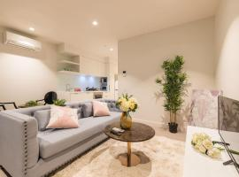 Eporo Tower 1 Bedroom Modern Apartment Central CBD, budget hotel in Melbourne