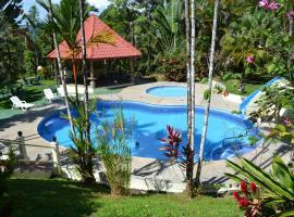 Natuga EcoLodge-Villas Dominical Baru