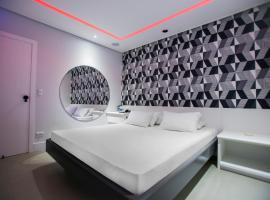 Rivieras Motel (Adult Only), hotel near Coliseu Theatre, Santos