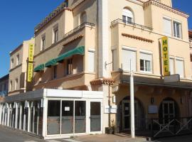 Hotel De La Plage, hotel in Valras-Plage