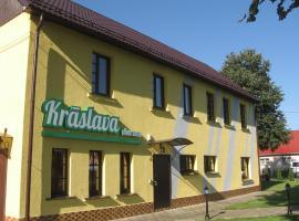 Pašapkalpošanās viesnīca Hotel in Kraslava pilsētā Krāslava