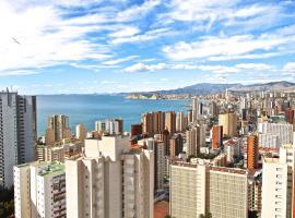 Residence Vacanza Torre Montecarlo, hotel económico en Benidorm