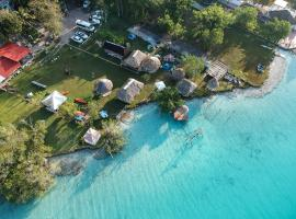 Ecocamping Yaxche, campground in Bacalar
