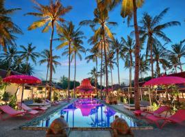 PinkCoco Gili Air, hotel with pools in Gili Air