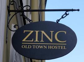 Zinc Old Town Hostel Tallinn, albergue en Tallin