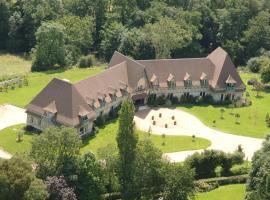 Château de la Bribourdière, hotel in Putot-en-Auge