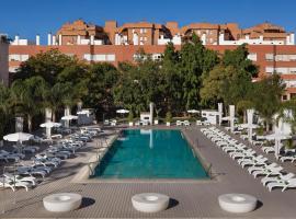 Melia Lebreros, hotel near Santa Justa Train Station, Seville