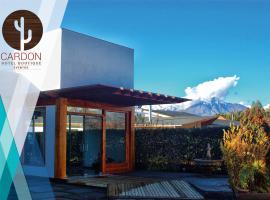Cardon, hotel in Los Andes