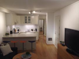 Cozy basement apartment near central Oslo