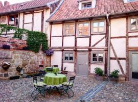 Hotel garni Tilia, hotel in Quedlinburg