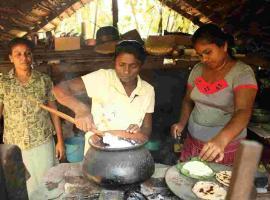 Srilanka local food class & Cabana