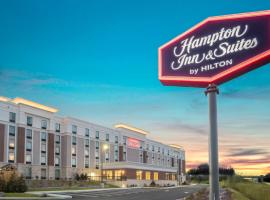 Hampton Inn & Suites Newburgh Stewart Airport, NY, hotel with jacuzzis in Newburgh
